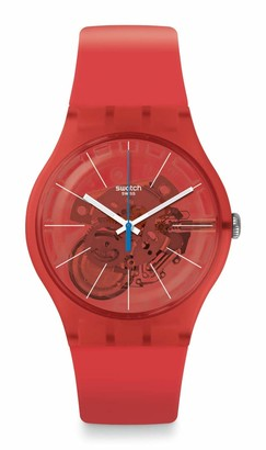 Swatch New Gent Lacquered Swiss Quartz Silicone Strap