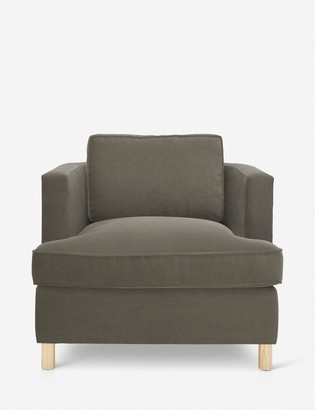 Lulu & Georgia Belmont Accent Chair, Loden By Ginny Macdonald