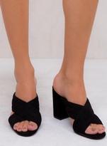 Therapy Black Triola Heels