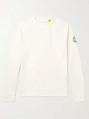 MONCLER GENIUS + Awake Ny 2 Moncler 1952 Logo-Detailed Loopback Cotton-Jersey Sweatshirt