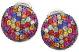 Effy Balissima by Multi-Color Sapphire Stud Earrings in Sterling Silver (3-1/3 ct. t.w.)