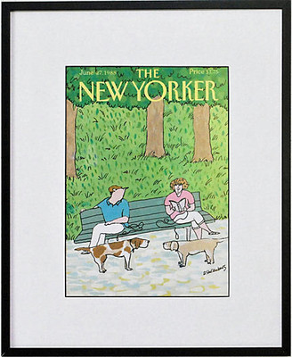 One Kings Lane Vintage The Park Bench - 1988 - Prints with a Past