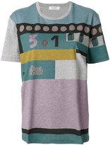 Valentino geometric print design T-shirt