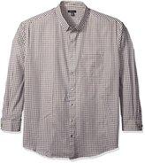Van Heusen Men's Big and Tall Long Sleeve Check Premium Non Iron Shirt