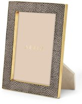 "AERIN Deco Chocolate Shagreen 5"" x 7"" Frame"