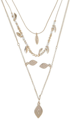 Miss Shop Multi Beaded Charm Necklace