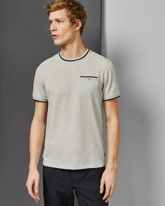 Ted Baker TRAMTOP Striped rib crew neck