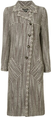 Chanel Pre Owned Patterned Coat