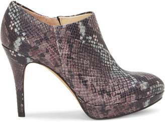 Vince Camuto Elvin Embossed Snakeskin Leather Booties