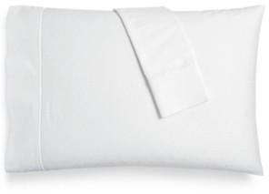 Aq Textiles Bergen House Woven Diamond Dot King Pillowcases, 1000-Thread Count 100% Certified Egyptian Cotton Bedding