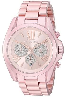 Michael Kors MK6752 - Bradshaw Chronograph (Pink) Watches
