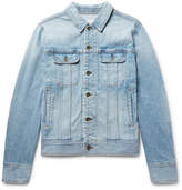 Rag & Bone Faded Denim Jacket - Light denim