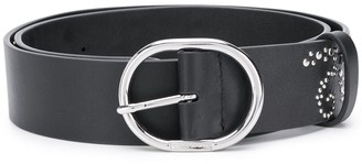 Paco Rabanne Star Studded Belt
