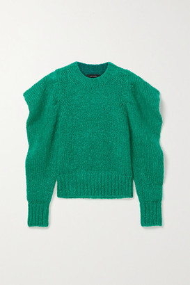 Isabel Marant Ivelyne Mohair-blend Sweater - Forest green