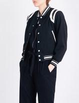 NSF Kenny wool-blend bomber jacket