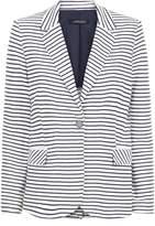 Jaeger Jersey Striped Blazer