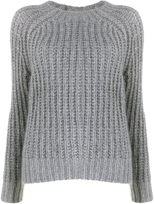 Forte Forte cable-knit fitted sweater