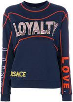 Versace sequinned sweatshirt