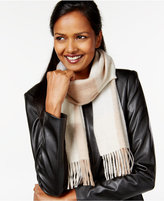 Charter Club Buffalo Check Cashmere Scarf, Only at Macy's