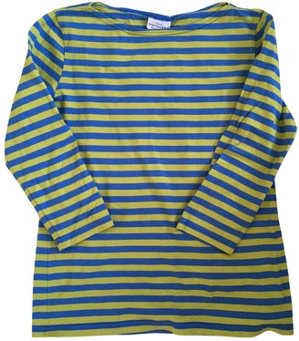 Marimekko Blue Cotton Top for Women