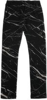 Finger In The Nose Printed Cotton Jersey Legging