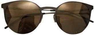 Italia Independent Black Metal Sunglasses