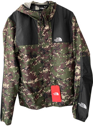 The North Face Khaki Polyester Jackets