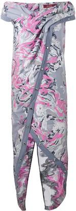 Sies Marjan Brocaded Asymmetrical Dress