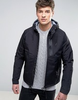 Celio Hooded Jacket with Concealed Pockets