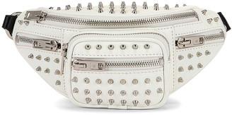 Alexander Wang Attica Soft Mini Fanny Crossbody Bag in White | FWRD