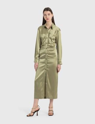 Nanushka Kinsley Slip Satin Dress