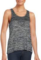 Rag & Bone Heathered Twist-Back Tank Top