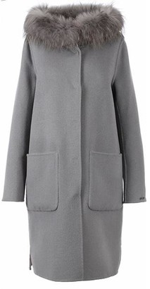Oakwood Yale Grey Coat - Medium - Grey