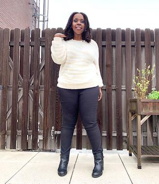LOFT Plus Zebra Print Sweater