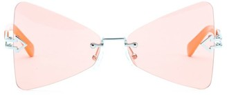 Karen Walker Paradise 57MM Butterfly Sunglasses