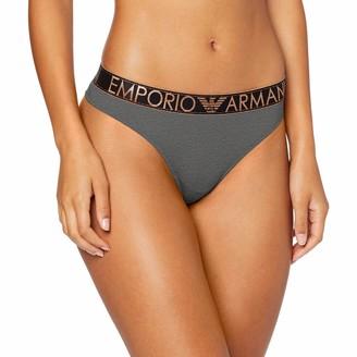 Emporio Armani Women's Stretch Cotton Thong