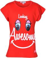 A2Z 4 Kids® Girls Top Kids Designer's Looking Awesome Print Fashion T Shirt Top 7-13 Years