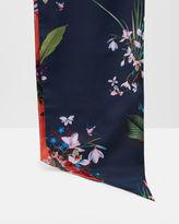 Ted Baker Tropical Oasis skinny scarf