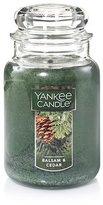 Yankee Candle Company Balsam & Cedar Large Jar Candle,Green