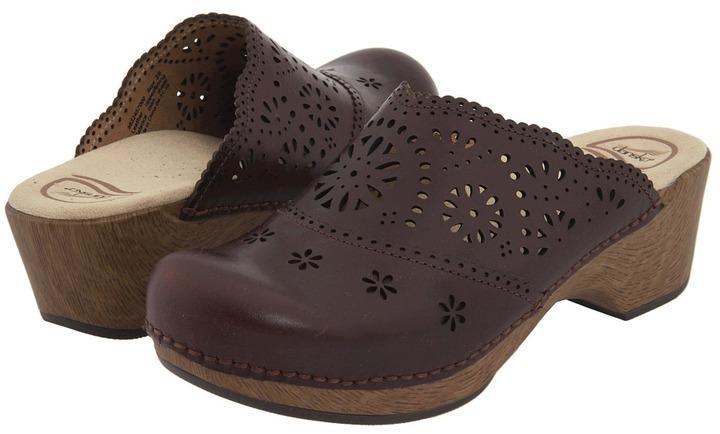 Dansko Skylar (Chocolate Veg-Tan) - Footwear