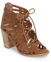 Very Volatile Women's Anabelle Cutout Lace-Up Sandal