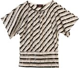 Amy Byer Iz sequin striped top - girls 7-16