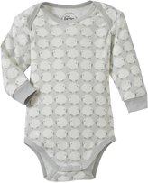 giggle Sheep Lap Shoulder Bodysuit (Baby) - Gray-3-6 Months