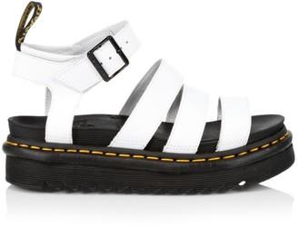 Dr. Martens Blaire Leather Platform Sandals
