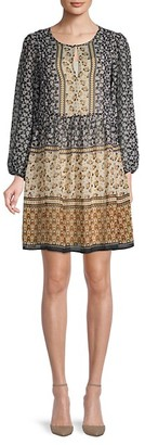 Tommy Hilfiger Printed Peasant Dress