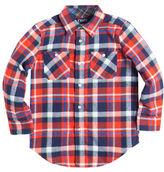 Chaps Plaid Flannel Work Shirt