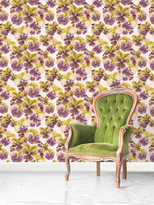 Pansies Removable Wallpaper