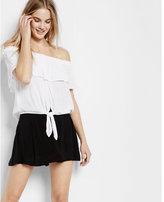 Express flirty mini skirt