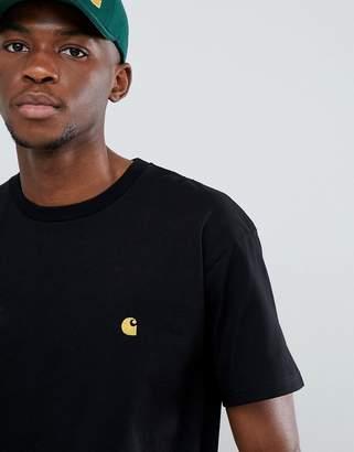 Carhartt Wip WIP Chase t-shirt in black-Grey