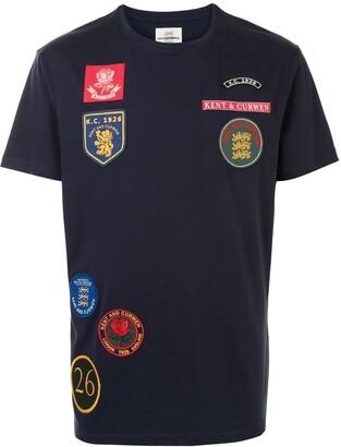 Kent & Curwen multi-patch cotton T-shirt